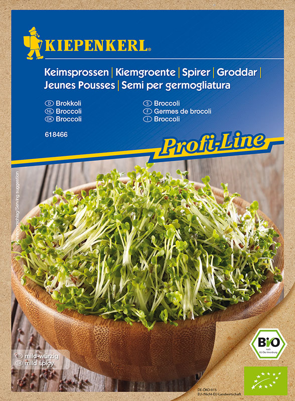 Bio Keimsprossen * Brokkoli * brassica oleracea Kiepenkerl 618466