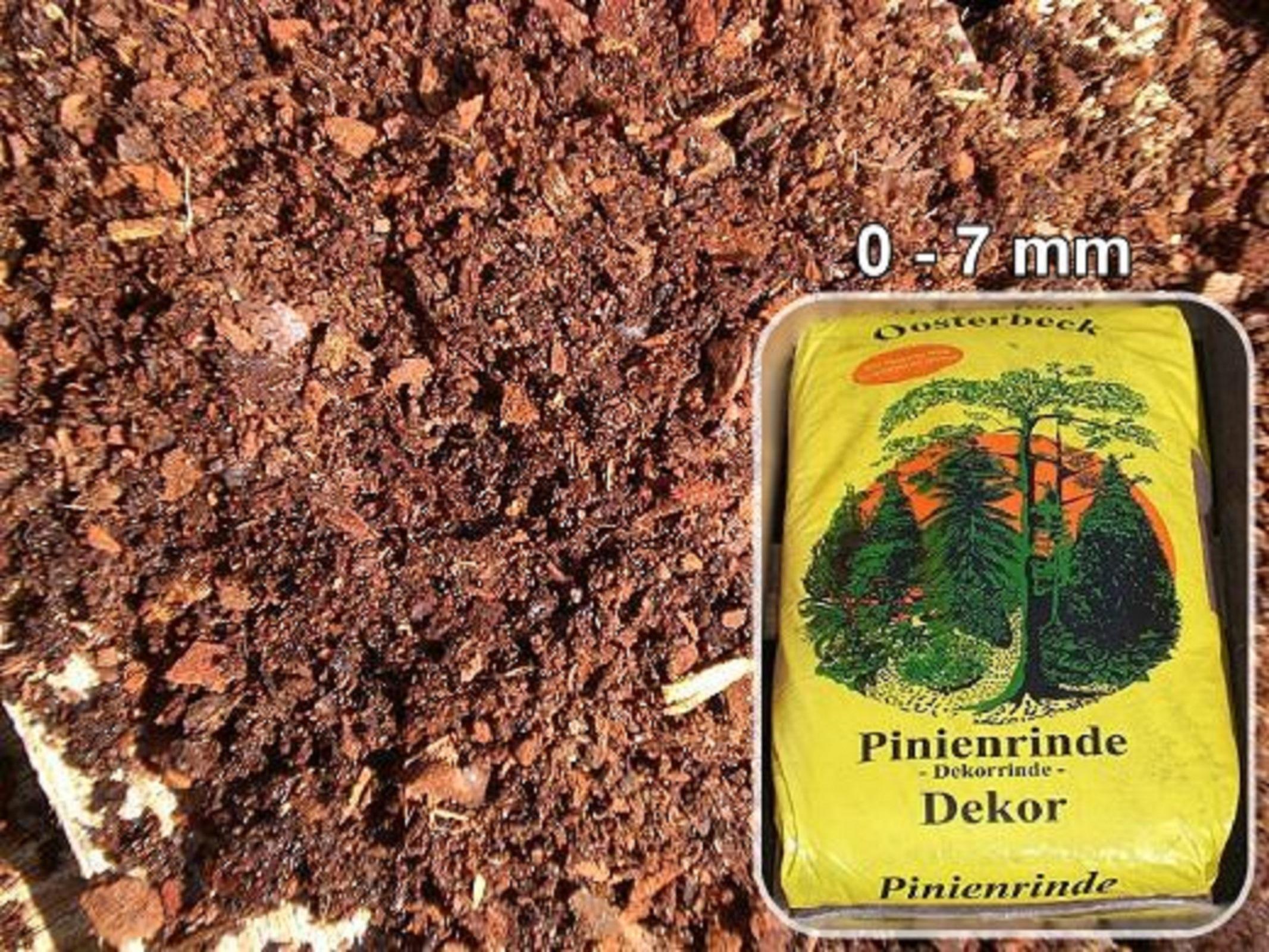 Französische Pinienrinde  0 - 7 mm  18 x 70 L 1260L Superior-Qualität Oosterbeek