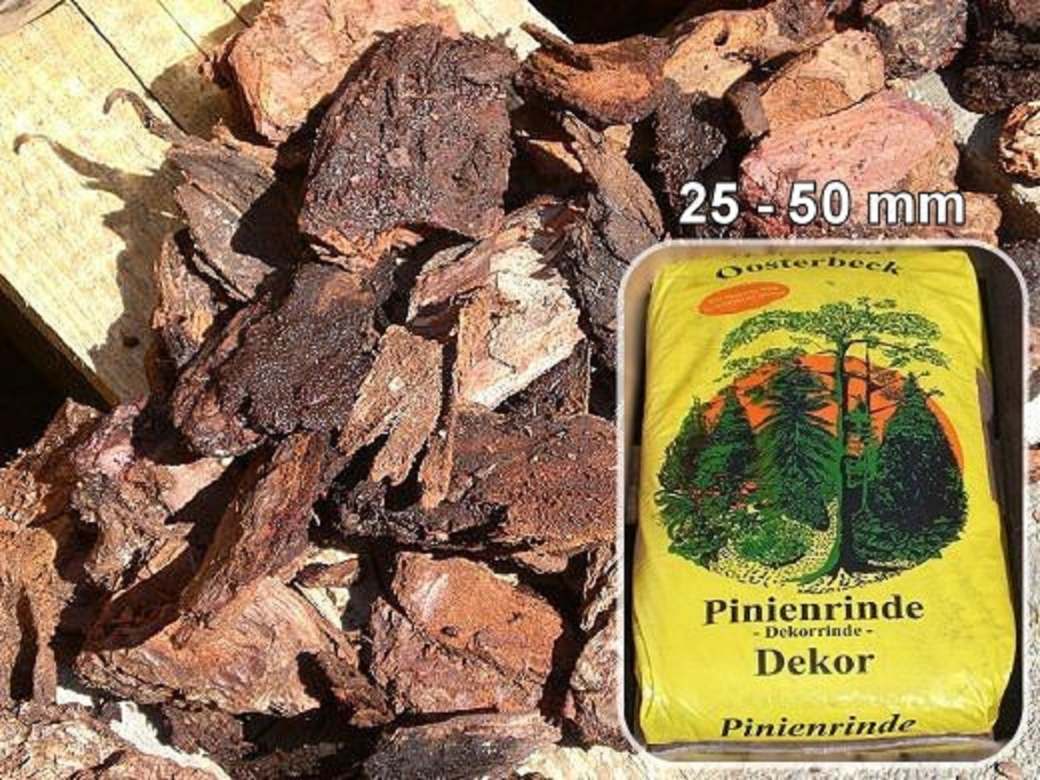 Französische Pinienrinde 25-50 mm 18 x 70 L 1260 L Superior-Qualität Oosterbeek